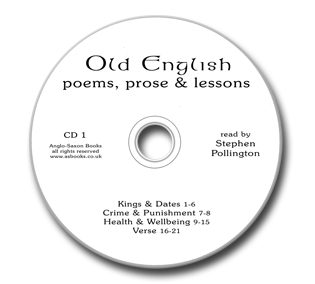 CD 1 for Old English Poems, Prose & Lessons