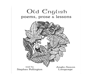 CD cover for Old English Poems, Prose & Lessons